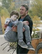 Taylor Kinney Signed 10x8 Chicago Fire Photo Obtained In Person [15329] Proof