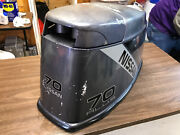 1990 And039s Nissan 70 Hp 2 Stroke Hood Top Cowl Cowling Shroud Freshwater Mn