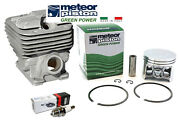 Meteor Cylinder Kit For Stihl Ms661 Chainsaw 56mm Replaces 1144 020 1200
