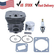 Cylinder Piston Ring Gaskets Kit For Husqvarna 353 351 350 346xp Chainsaw 45mm