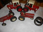 Lot Of International Toy Tractors Please See Photos