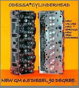 New 2 6.5 Gm Diesel Cylinder Heads Cast567 Candk Series Truck 90° 92-99 No Core