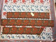 Collection Antique Early Jacquard Woven Border Textiles French English 1800and039s