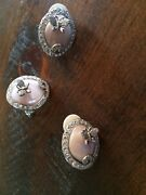 Unique And Rare - Suzanne Somers Butterfly Ring And Clip Earrings