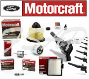 Complete Genuine Motorcraft Tune Up Kit 1997 Ford F250 5.4l Ignition Coil Dg508