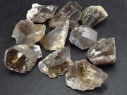 Lot Of 10 Gem Quality Axinite Crystals From Russia - 90 Carats