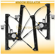 2pc Front Right+left Power Window Regulator W/ Motor Fit Gmc Chevy Saab Olds Suv