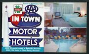 In Town Motor Hotels Silver Spring / Bethesda Maryland
