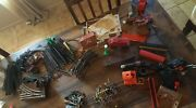 Lot Of Vintage Lionel Lines O Scale Trains Tracks Transformers As Is Untested