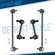 4pc Front And Rear Stabilizer / Sway Bar End Links For 2003 - 2008 Hyundai Tiburon