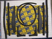 1954-1956 Buick Cadillac Convertible Roof Rail Weatherstrip Set   Free Shipping