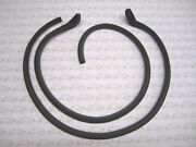 1942-1948 Buick And Cadillac Convertible Door Weatherstrip   Free Shipping
