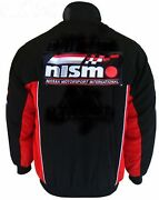 Jacket-blouson-jaquette.nissan Nismo Racing Team All Logo In Brodery