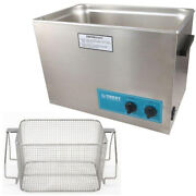 Crest P1800h-45 Ultrasonic Cleaner-heat And Timer-mesh Basket
