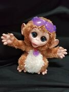 Furreal Friends Baby Cuddles Giggly Monkey Chimp Hasbro Animated 8