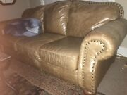 Used Leather Sofa.andnbsp Large Good Condition