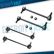 4pc Front And Rear Stabilizer Sway Bar Links For Avalon Camry Solara Es300 Rx330