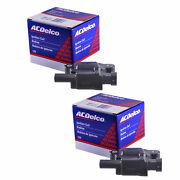 Set Of 2 Acdelco Ignition Coil Bs-c1511 For Cadillac Chevrolet Gmc Buick 05-16