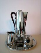 Coffee Service With Tray Tommi Parzinger Dorlyn Silversmith