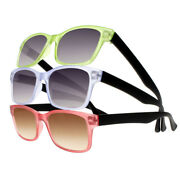 Candy Computer Anti Reflective Tinted Lens Reading Glasses Uv Protect Sun Reader
