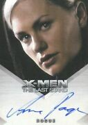 X-men The Last Stand Autograph Card Anna Paquin As Rogue