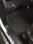 Leather Car Floor Mats Luxury Bespoke Fully Tailored Fit Mercedes Gl X166 2012-