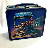 1984 Aladdin Mattel He-man And The Masters Of The Universe Motu Metal Lunchbox