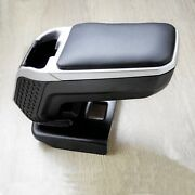 Car Center Console Armrest Storage Box Leather Arm Rest For Opel Astra K 2015-