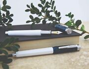 Set Of 2 Conklin Israel 70 Fountain And Rollerball Pen Limited Edition 0070/1948
