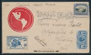 297 5c Pan-american Expo Cover To Austria May 13 1901 Bu4765