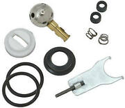Sl0116 Delta Lavatory Sink Andtub And Shower Repair Kit, New Style Crystal Handles -