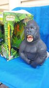 Vintage 1999 King Of The Apes Silverback Gorilla Wowwee Animal Tronic In Box