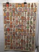 Wacky Packages Series One Uncut 132 Card Full Sheet Poster Size Topps 1979