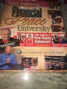 New 2006 Dave Ramsey Financial Peace University Kit Total Money Makeover Coach