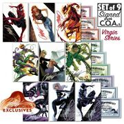 Amazing Spider-man 800 Campbell Variant Set Of 9 Signed Virgin Covers Sdcc 2018