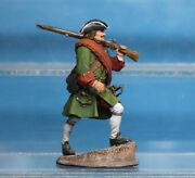 Russian Fusilier 1709 Russian Army Elite Hand Painted Tin Toy Soldier Metal 54mm