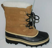 Sorel Caribou Menand039s Winter Snow Boot Nm1000/281 Buff New