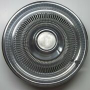 1970and039s Monte Carlo 15 Inch Stainless Steel Hubcap Wheel Cover Very Rare Hubcap