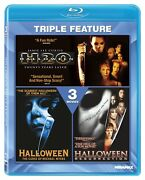 The Halloween Collection 3 Movies In 1 Set H20 Curse Of Mm Resurrection Blu-ray