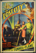 Lost City 1935 Orig 27x41 Chapter 2 Movie Poster William Boyd Claudia Dell