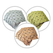 10 Sq Ft Brushed Metal Mosaic Tiles 3d Peel And Stick Wall Panels Backdrop