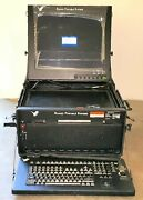 General Dynamic Us Army Military Laptop Notebook Ruggedized Portable Computer