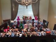 Rare Collectibles P.v.c. Ty Beabie Baby Lot 50andnbspandnbsp