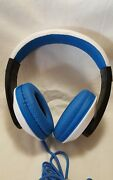 Nakamichi Nk780 Precision Sound Over The Ear Headphones With Mic Remote- Blue