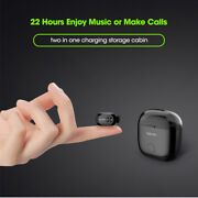 Headset Mini Bluetooth Micro Earbuds New Wireless Earphone With Storage Charging