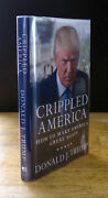 Crippled America 2015 Donald J. Trump Signed Psa/dna Certified 1st Edition