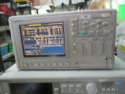 Anritsu Mp1570a, Analyzer As Photo, Sn0093, Power Up Without Calibration, As Is