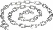 1/4 Inch X 4 Ft Galvanized Anchor Chain With 5/16 Inch Shackles 70732/616079