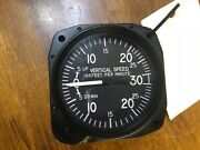 Vsi/vertical Speed Indicator Removed From New Helicopter United Inst. 7030