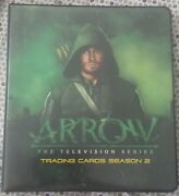 Arrow Season 2 - Red Foil Nearly Complete Master Set W/ Binder - Missing 3 Cards
